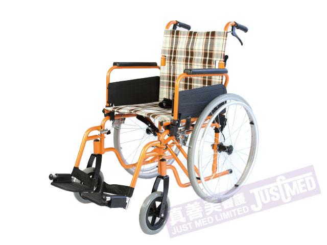 Alpha® 鋁合金自助式輪椅 (橙色)