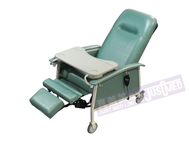 傾斜式有輪老人椅