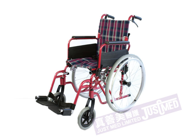 Alpha 鋁合金自助式輪椅 (紫色)