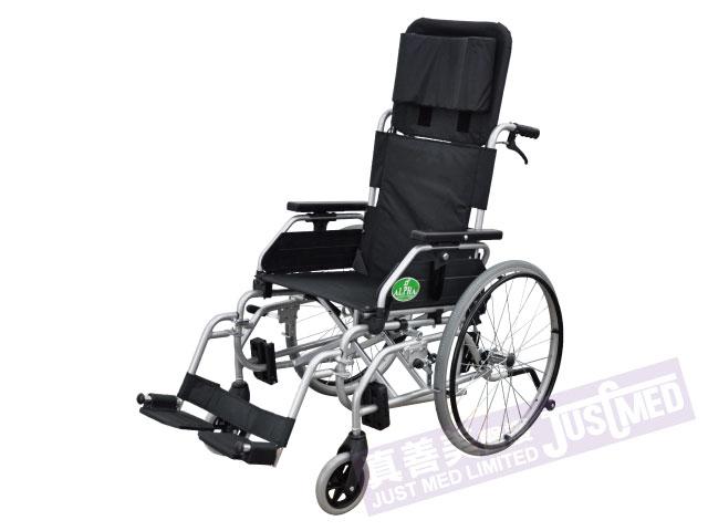 Alpha® 傾斜式高背輪椅