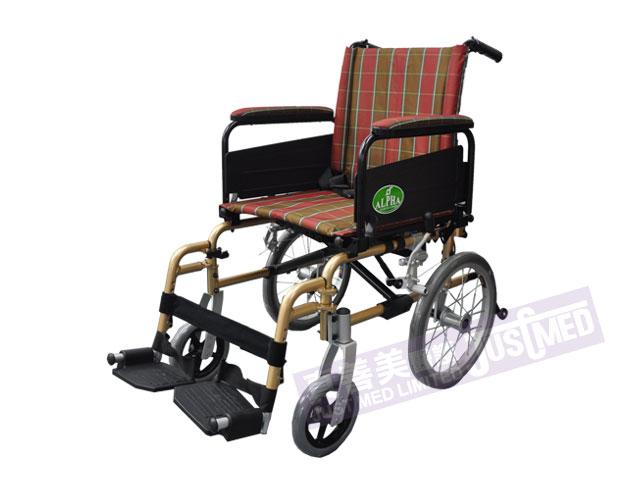 Alpha® 鋁合金助推式輪椅 (3016H)