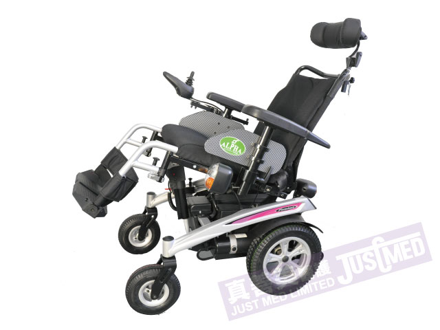 Alpha® 傾斜式電動輪椅 FUSION 2