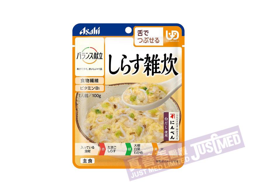 朝日Asahi 銀魚雜燴粥 (しらす雑炊)