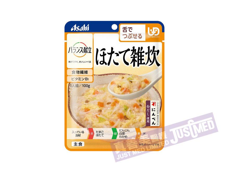 朝日Asahi 扇貝雜燴粥 (ほたて雑炊)