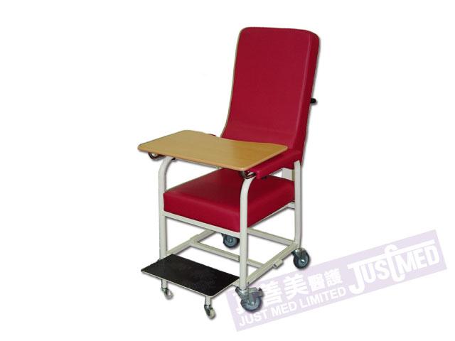 有輪高背椅