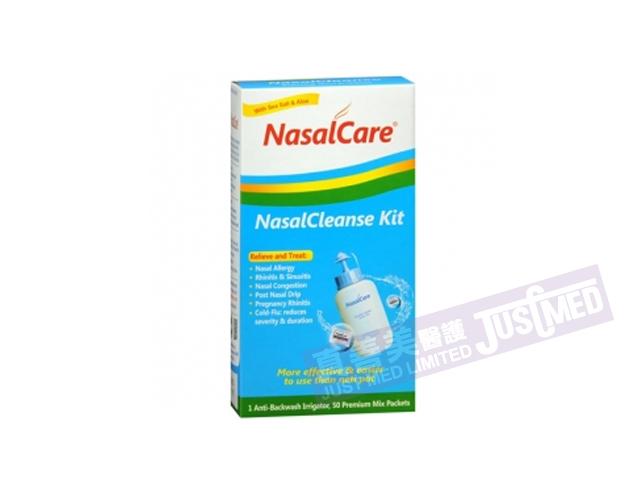 美國鼻可樂洗鼻器 (洗鼻器1個,清潔劑30包)